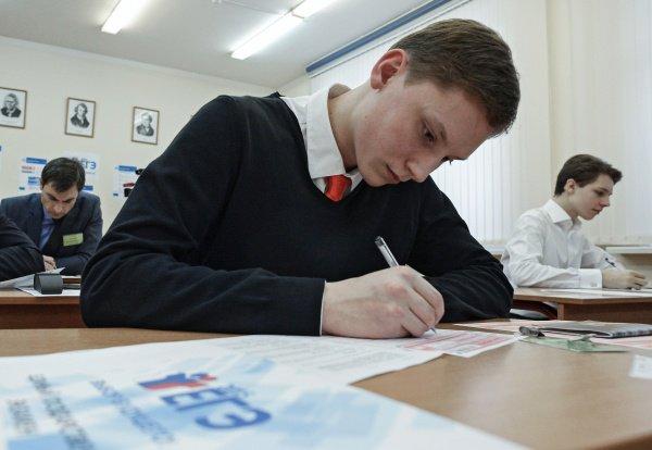 Залогом успешной сдачи экзаменов является упорный труд