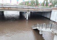 В Челнах из-за ухудшения погоды затопило проспект и падали деревья (ФОТО)