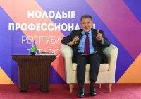 Минниханов наградил победителей чемпионата «Молодые профессионалы»