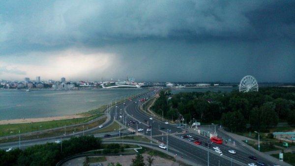 В июне температура в Татарстане будет ниже нормы на 0,5 градуса, а число осадков – выше нормы