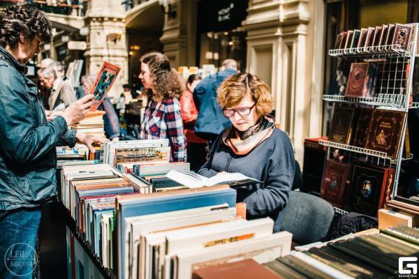 Посетителей фестиваля порадуют традиционные буккроссинг и книжные новинки от различных издательств