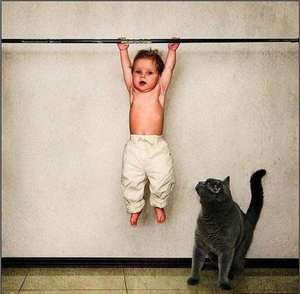 Главное условие конкурса: на фото ребенок должен заниматься физкультурой или спортом