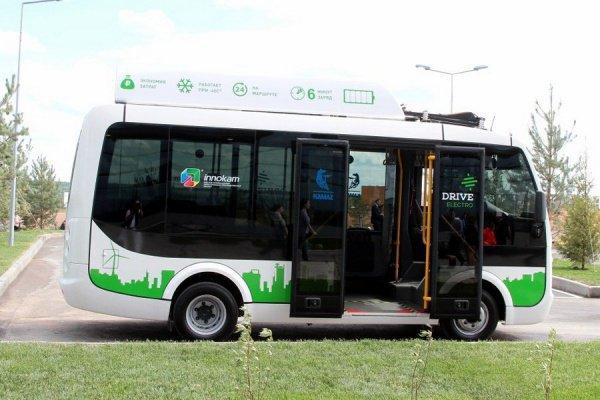 КАМАЗ представит вСколково станцию ультрабыстрой зарядки для электробусов