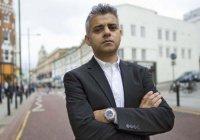 Садик Хан призвал отменить визит Трампа в Великобританию