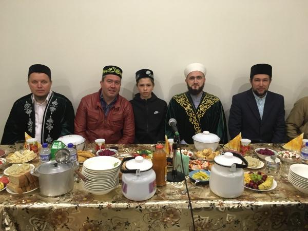 Муфтий РТ принял участие в ифтаре в Бугульме