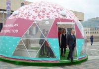 5 шатров в виде футбольного мяча заработали в Казани