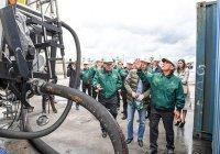 Минниханов посетил обновленный цех очистки промышленных сточных вод «ТАИФ-НК»
