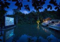 Водный кинотеатр в Казани откроется бесплатным показом