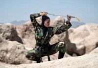 В Иране готовят женщин-ниндзя