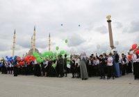 Чечня отметила День России с большим размахом