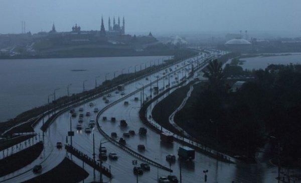 МЧС: В Татарстане пройдут ливни и грозы