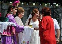 В Подмосковье представили свадебный обряд татар