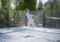 В Нижнекамске запустили первый батутный парк под открытым небом