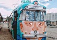 Экскурсионный ретро-трамвай запускается в Казани
