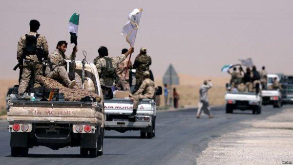 На прошлой неделе проамериканские вооруженные группировки т.н. «Сирийских демократических сил» (СДС) начали наступление на Ракку с целью отвоевать город от боевиков т.н. «ИГ»