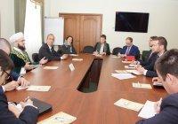 Муфтий РТ встретился с дипломатами стран Евросоюза