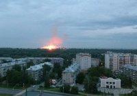 На пороховом заводе в Казани ночью прогремел взрыв и вспыхнул пожар