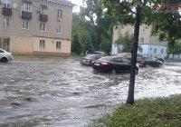 После сильного ливня Казань затопило (ФОТО, ВИДЕО)
