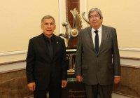 Минниханов встретился с председателем парламента Португалии