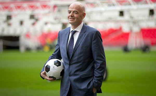 Джанни Инфантино, президент Международной федерации футбола (ФИФА)