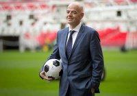 В Казани матч Кубка конфедераций посетил президент ФИФА