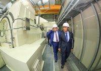 В Казани запустили мощнейшую в России газотурбинную установку