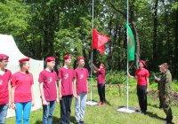 В Нурлате стартовал военно-патриотический палаточный лагерь