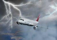 В самолет, вылетевший из Стамбула в Казань, ударила молния