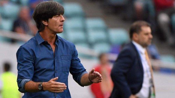 Главный тренер сборной Германии по футболу Йохим Лев