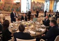 Минниханов в Москве принял участие в президентском обеде