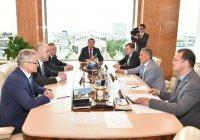 Минниханов встретился с руководителем казанского отделения посольства Белоруссии в РФ