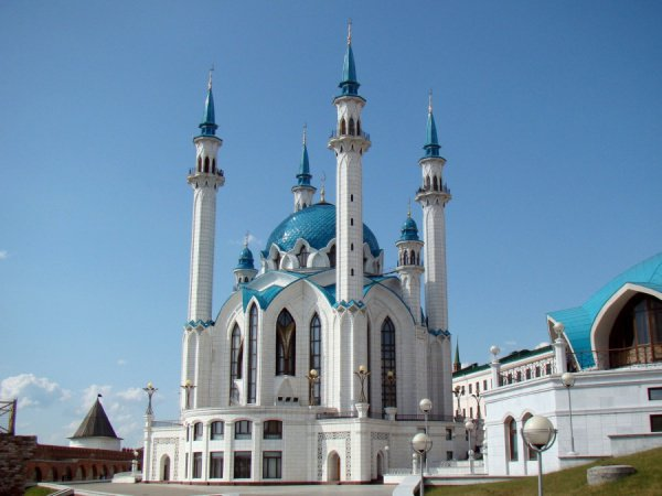 Ураза-байрам в мечети Кул Шариф.