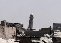 ИГИЛ уничтожило главную мечеть Мосула, в которой выступал аль-Багдади
