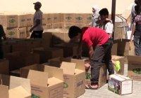 Чечня отправила гуманитарную помощь 10 тысячам сирийских семей