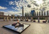 В парке Победы прошло возложение цветов в День памяти и скорби