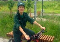 В Челнах заработал экологический велопатруль
