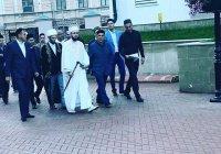 Президент РТ совершил праздничный намаз в Галиевской мечети