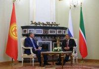 Президент Киргизии назвал «прорывом» встречу с Миннихановым