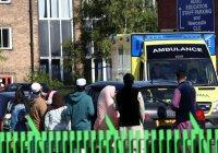Автомобиль въехал в толпу мусульман, отмечавших Ураза-байрам