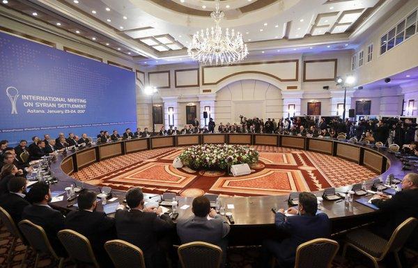 Межсирийские переговоры в Астане.