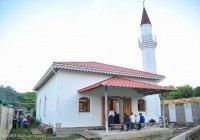 В Крыму восстановили мечеть, построенную в 1703 году