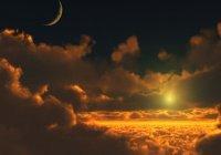 Джибриль забрал у луны свет и передал его солнцу...