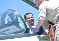 Башар Асад посетил авиабазу ВКС РФ в Хмеймиме