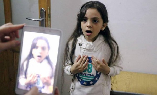 Девочка из Сирии вошла в список самых влиятельных людей Интернета
