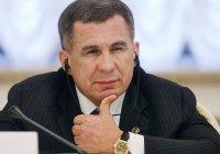 Рустам Минниханов вошел в десятку рейтинга губернаторов