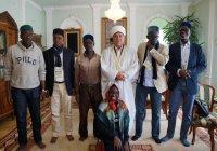 Представители ФИФА посетили мечеть Марджани