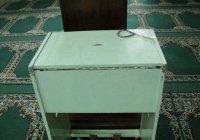 Обокравший мечеть вор оставил на месте преступления необычную записку