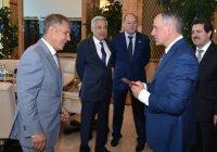 Рустам Минниханов встретился с главой Госсовета Крыма