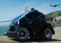 В Дубае показали беспилотный автомобиль в действии