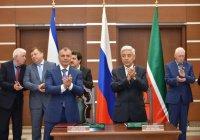 Татарстан и Крым подписали договор о межпарламентском сотрудничестве